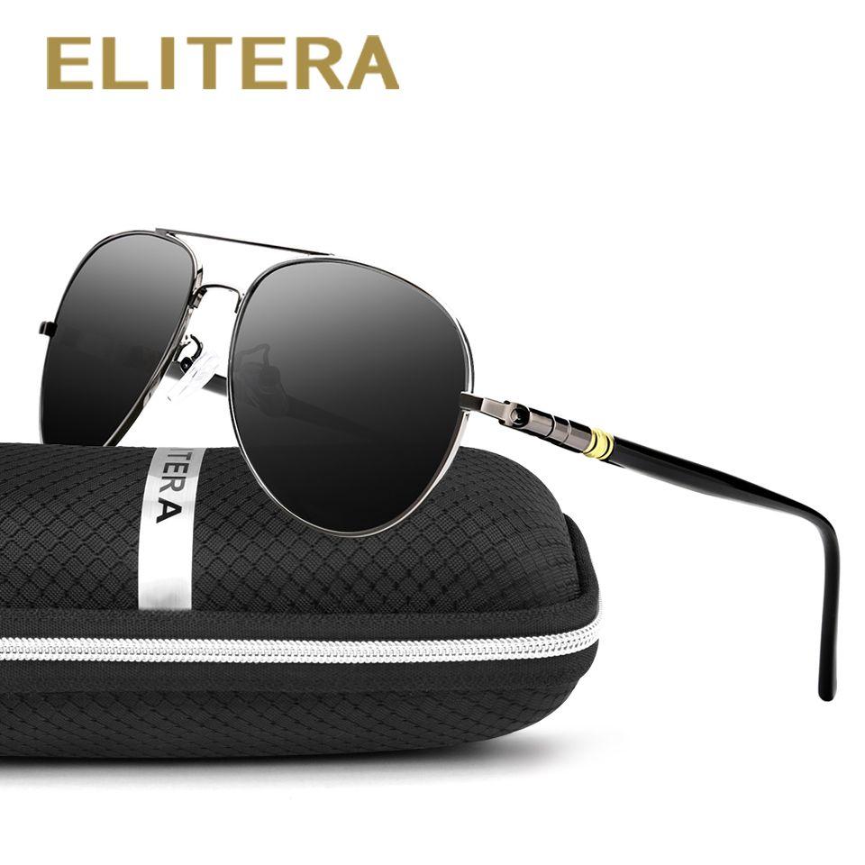 ELITERA nouveaux arrivants hommes aimé mode polarisée marque lunettes de soleil lunettes de soleil quatre couleurs pour choisir 209 en gros