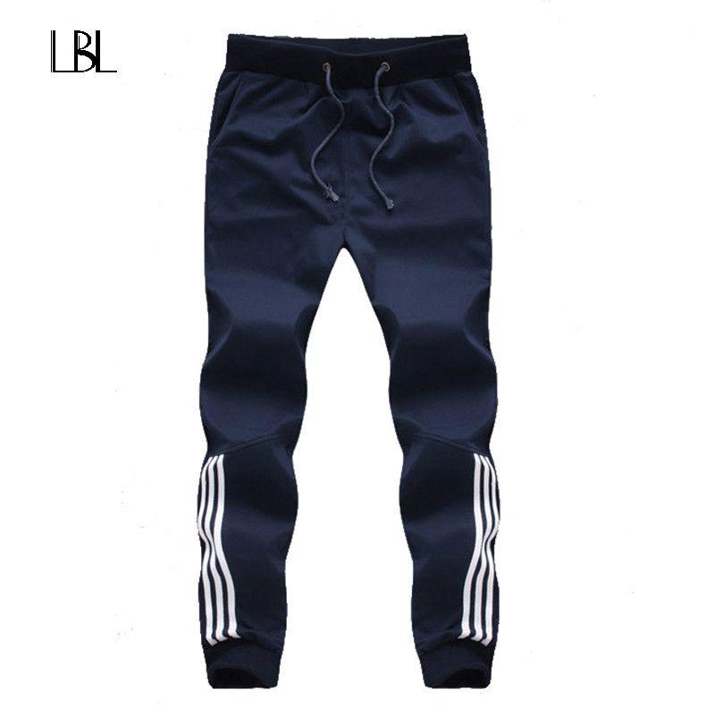 2018 neue Mode Jogginghose Herren Freizeithosen Aus Baumwolle Jogginghose Herren Jogginghose Gestreiften Hosen Turnhallen Kleidung Plus Größe 5XL
