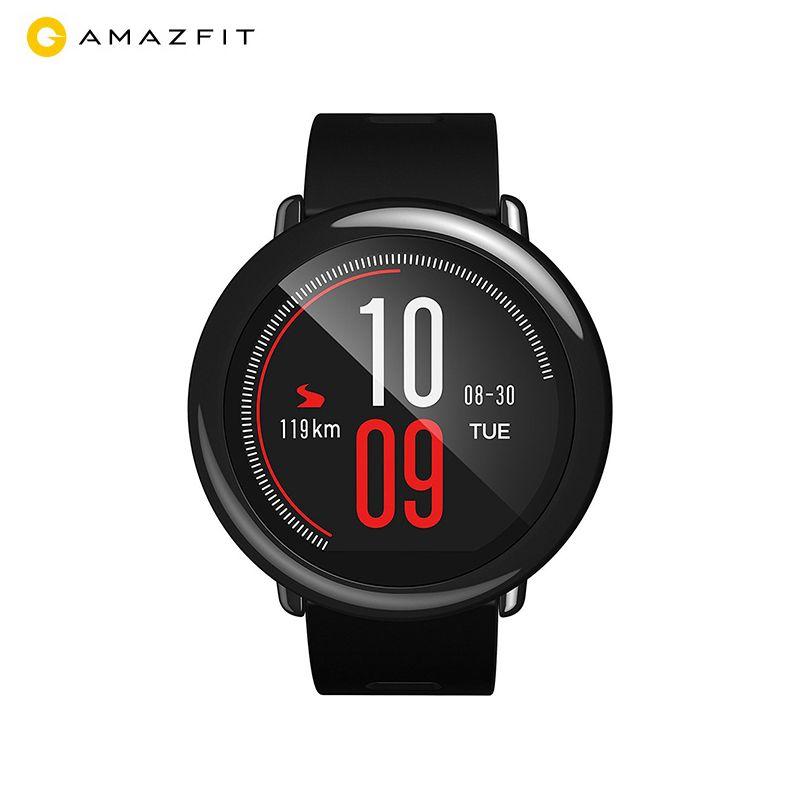 [English Version] Xiaomi Huami AMAZFIT Pace Smart Watch Bluetooth Sports Black Smartwatch Zirconia Ceramics Heart Rate Monitor
