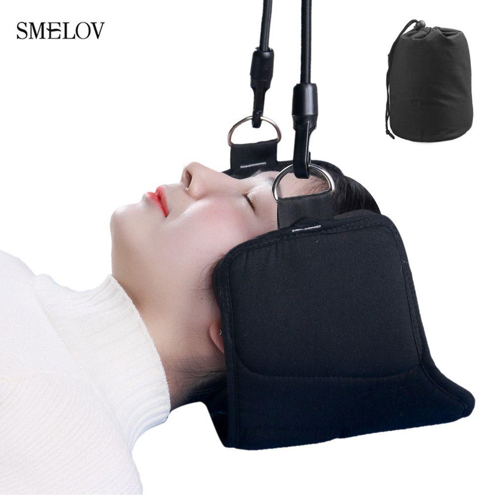 Fondov mode portable soulagement de la douleur au cou relaxant hamac cou masseur mousse sieste sommeil oreiller coussin pour bureau à domicile