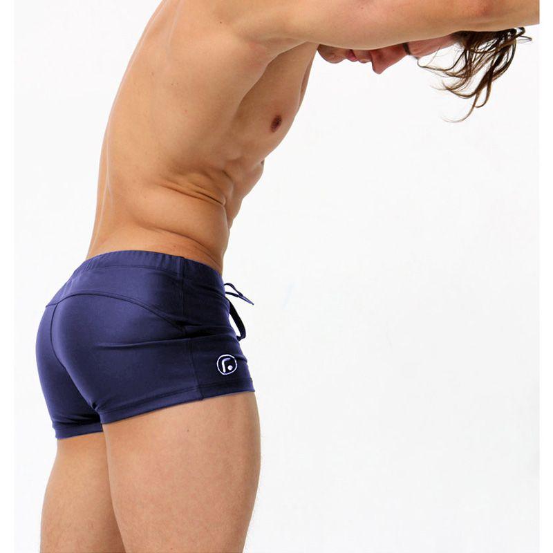 AQUX Marque Sexy Hommes Slip de Bain Low Rise Hommes de Nylon Maillots De Bain Bref Bikini Hommes Natation Surf Élastique Sunga Slip