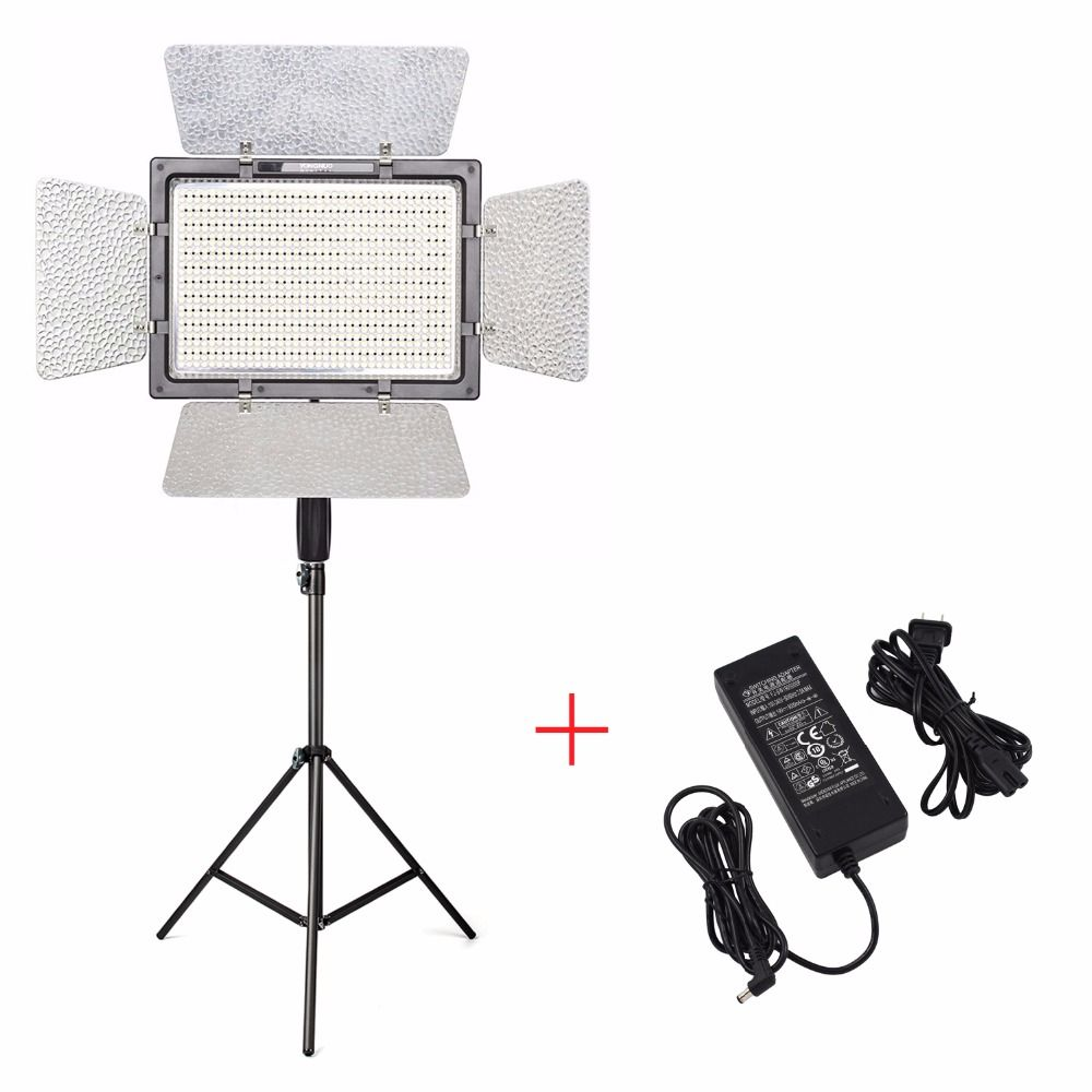 YONGNUO YN900 Pro LED Video Light Lamp 5500K+Charger+2M light Stand,Camera Camcorder APP Control 900 LED Video Light