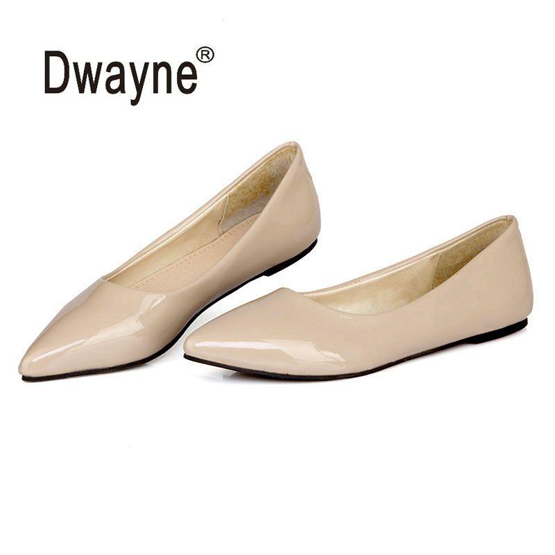 Big Size Women's Shoe Fashion Flats Shoes SB Party Shoes For Women PU Wedding Shoes chaussure femme zapatos mujer