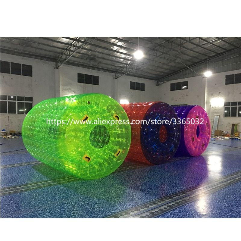 Water park toys transparent water ball person inside,inflatable bubble rolling ball for sale