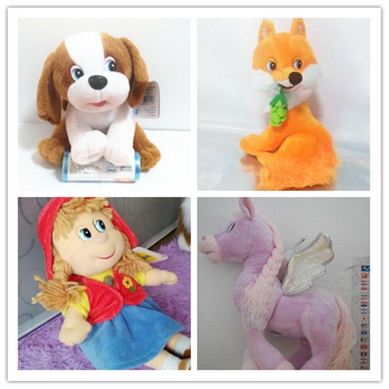 Langue russe parlant chanson peluche cochon poupée, jouets électroniques pour enfants, intellectuel russe jouet anniversaire cadeau de noël