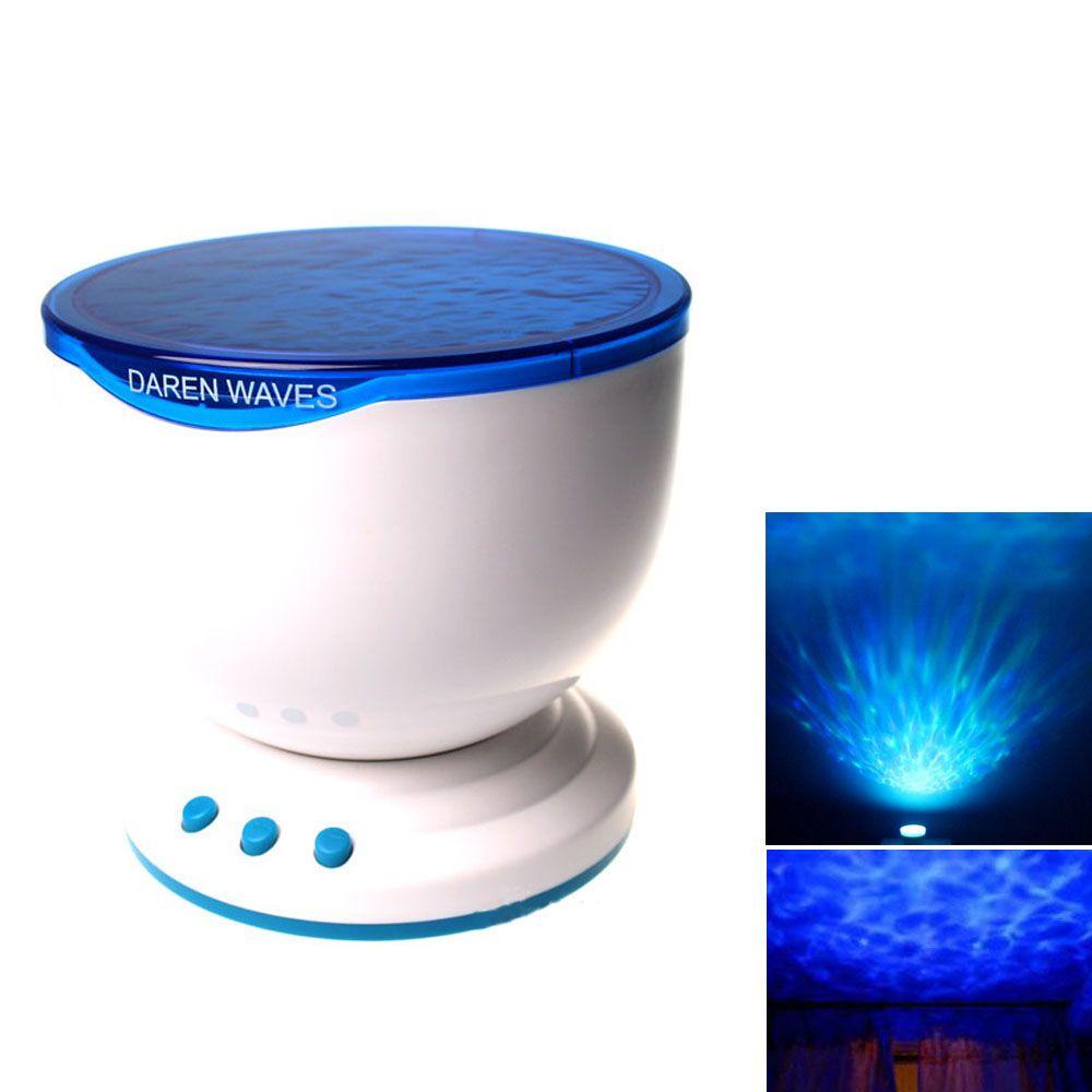 Многоцветный Романтический Аврора Мастер светодиодные волны океана свет лампы проектора