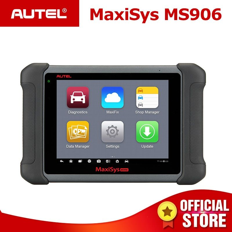 AUTEL MaxiSys MS906 Auto Auto Diagnose Werkzeug OBD2 Scanner Automotive für Schlüssel Codierung OBD 2 ECU Tester Schlüssel Programmierer TPMS service