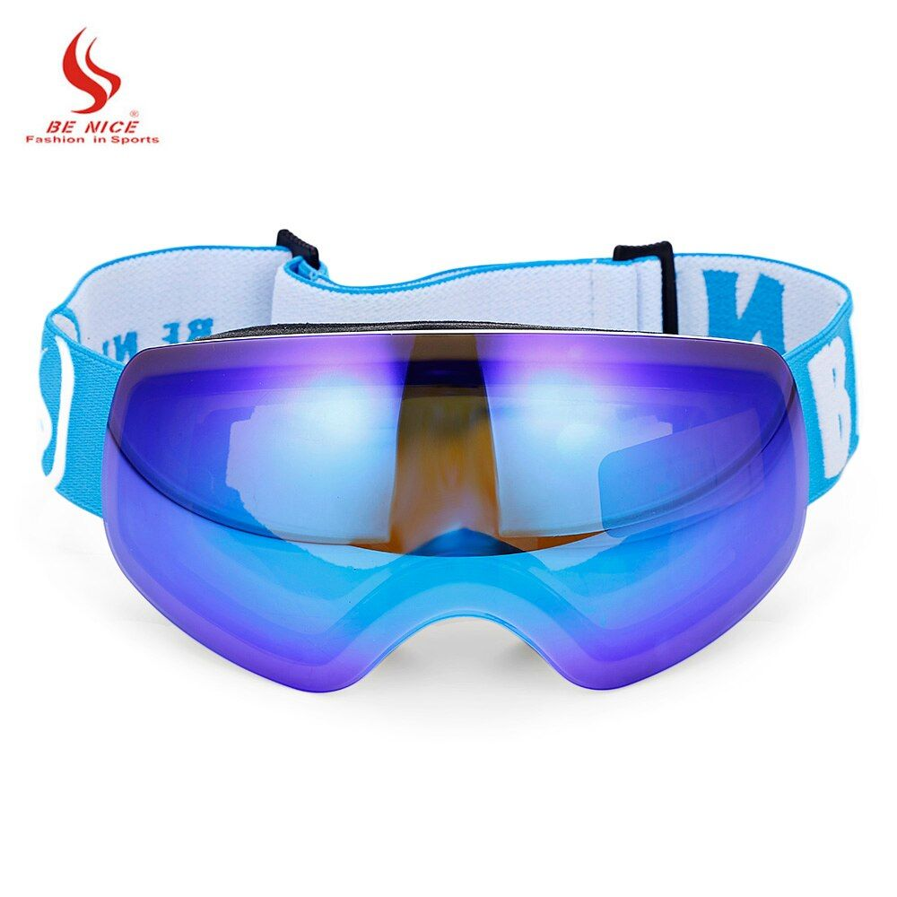 Benice nieve-4700 Kid gafas de esquí esférica antivaho lente snowboard esquí escalada Gafas gafas