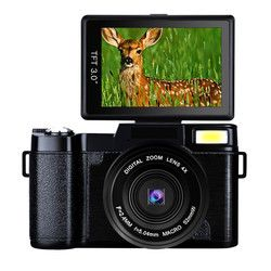 G36 Micro Single Digital Camera Full HD 1080P Portable Video Camcorders DV Super Night Vision with External Professional Lens