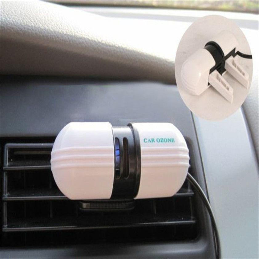 Car-styling car ozonator Super Applied Car Ozone Ionizer Generator Vehicle Air Purifier Brand ionizador carro p# dropship