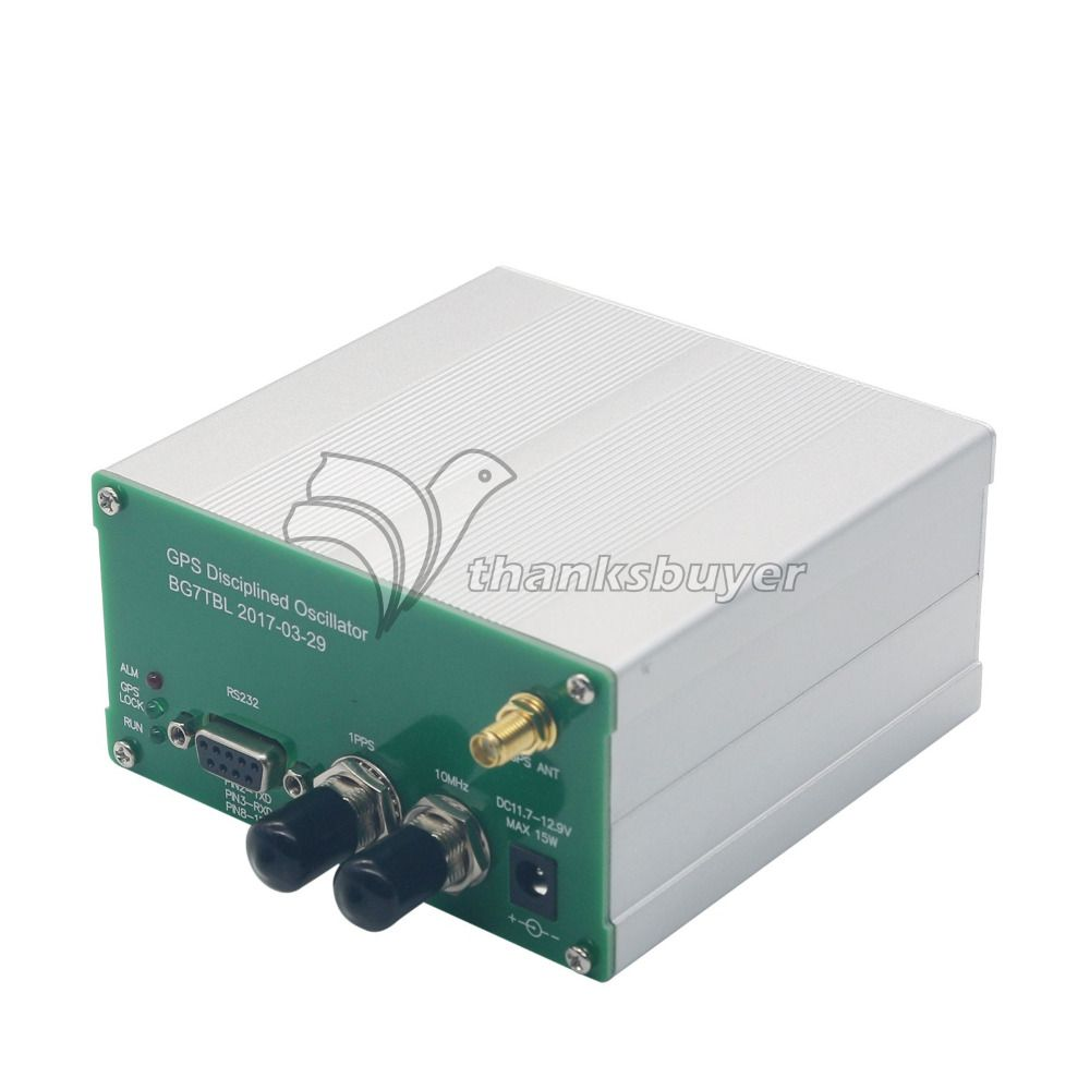 GPS Disciplined Clock GPSDO 10M Output Square Wave GPS Oscillator