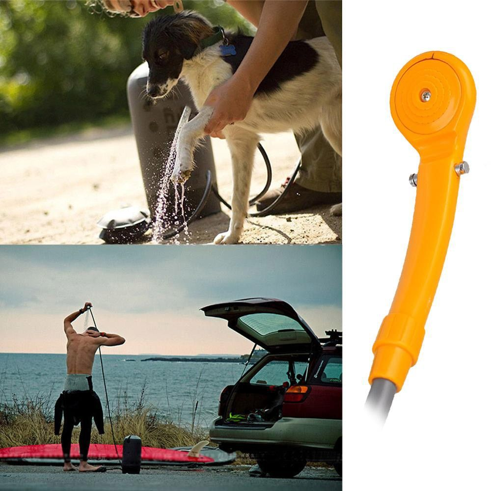 2018 <font><b>Promotion</b></font> Washing Machine Parking 12v Camping Hiking Travel Car Pet Shower Spa Wash Kit Outdoor Useful Tools