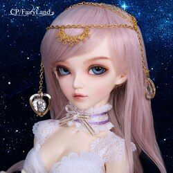 Fullset Negeri Dongeng Minifee Paket Chloe Celine Mirwen Ante Niella Eliya FL BJD Boneka 1/4 Manis Fashion Fairy Telanjang Mainan MSD