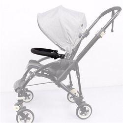 Accesorios para cochecito de bebé Trolley apoyabrazos parachoques Bar manillar con PU cuero tela Oxford para Bugaboo Bee3 abeja 3