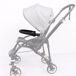 Baby Stroller Accessories Trolley Armrests Bumper Bar Handlebar With PU Leather Oxford Fabric Cover For Bugaboo Bee3 Bee 3