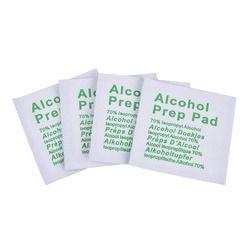 100 unids/caja profesional Alcohol Swabs Pads Wet Wipes 70% isopropilo Primeros Auxilios inicio limpiador de la piel esterilización
