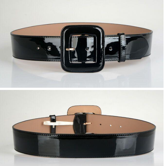 Offre spéciale ceintures en cuir livraison gratuite mode boucle ardillon or noir luxe punk large ceinture sangle ceinture robe porter pour les femmes
