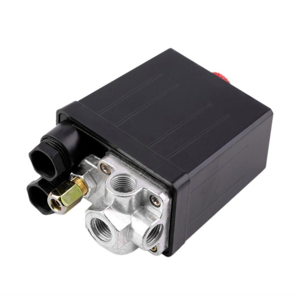 Haute qualité 1 Pc compresseur d'air résistant interrupteur de pression vanne de contrôle 90 PSI-120 PSI compresseur d'air commutateur de contrôle