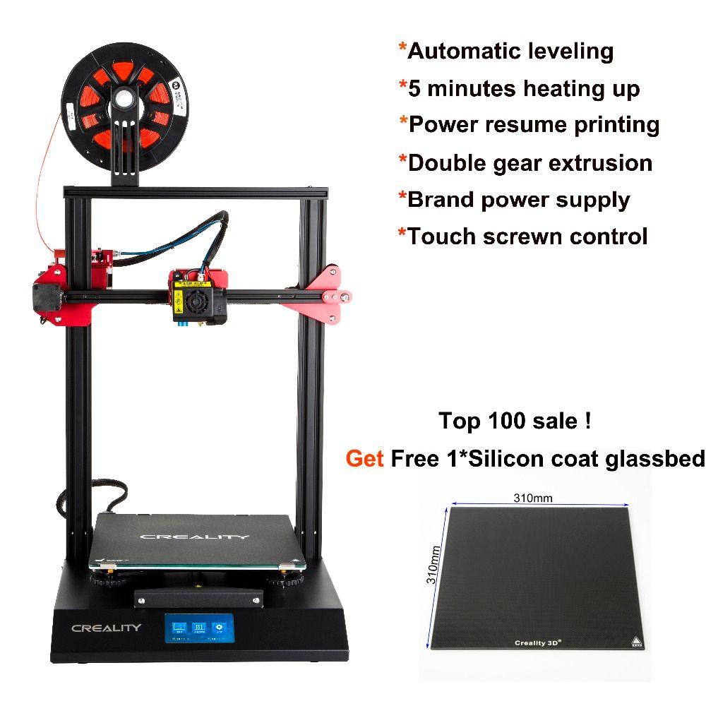 CREALITY CR-10S Pro 3D Drucker montiert Auto Nivellierung Touch LCD Doppel Extrusion Lebenslauf Druck Filament Erkennung Funtion