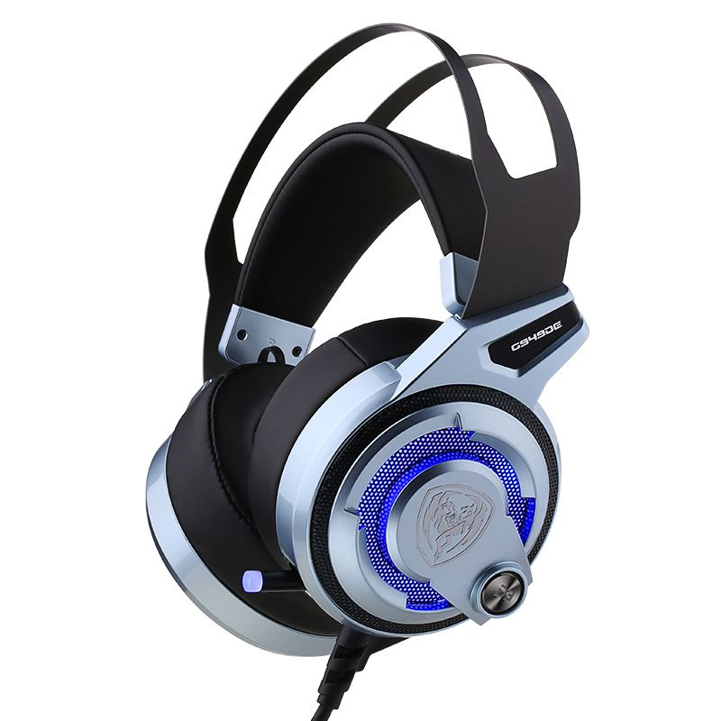 Original SOMIC G949DE LED Virtual 7.1 Surround Sound PS4 LOL Gaming Headset, USB Noise Cancelling Headphones with 4 Speakers