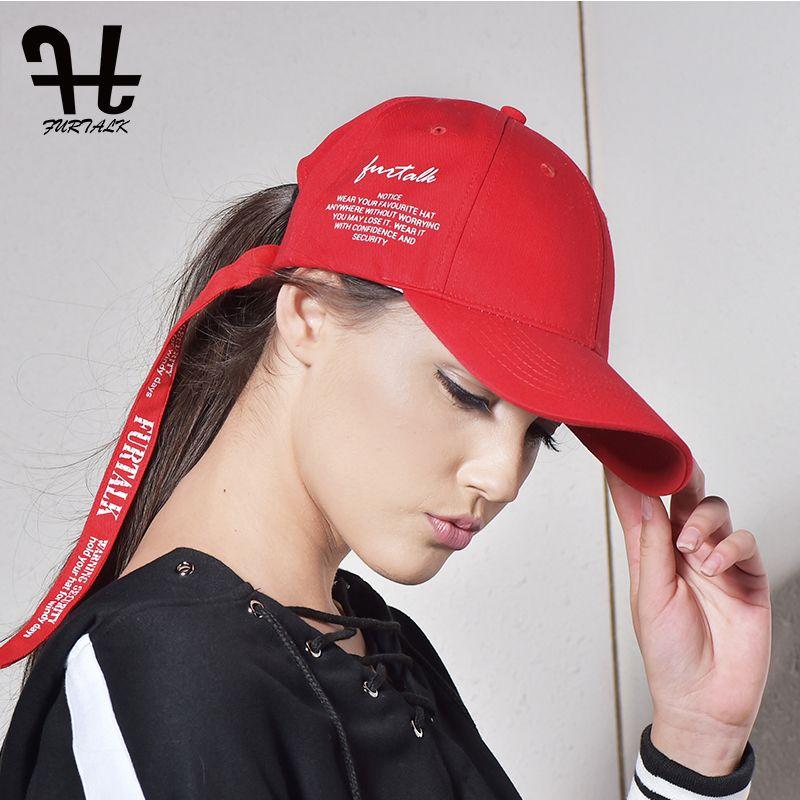 Furtalk moda gorra de béisbol verano Sol SnapBack del casquillo del sombrero carta sombrero para hombres mujeres al por mayor