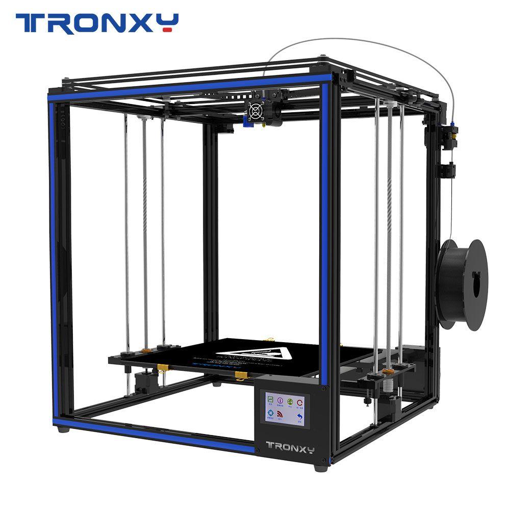 2019 Tronxy 3D drucker X5SA-400 Größere druck größe 3,5 zoll TFT Touch Screen PLA ABS Filament