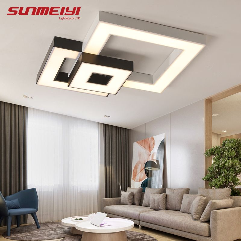 Modern Led Ceiling Lights With Remote Control lamparas de techo Led Lamps For Living room Dining room luminaire plafonnier