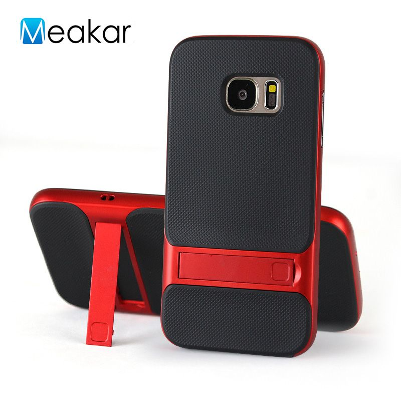 Bracket Case 5.1For Samsung Galaxy S7 Case For Samsung Galaxy S7 G930 G9300 G935 Cell Phone Back Cover Case