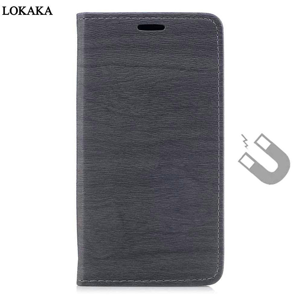 LOKAKA New Wallet Case for Xiaomi redmi note 4X note4 PU Leather Silicon Flip Cover Bags Cases redmi note 4 Pro Stand Function