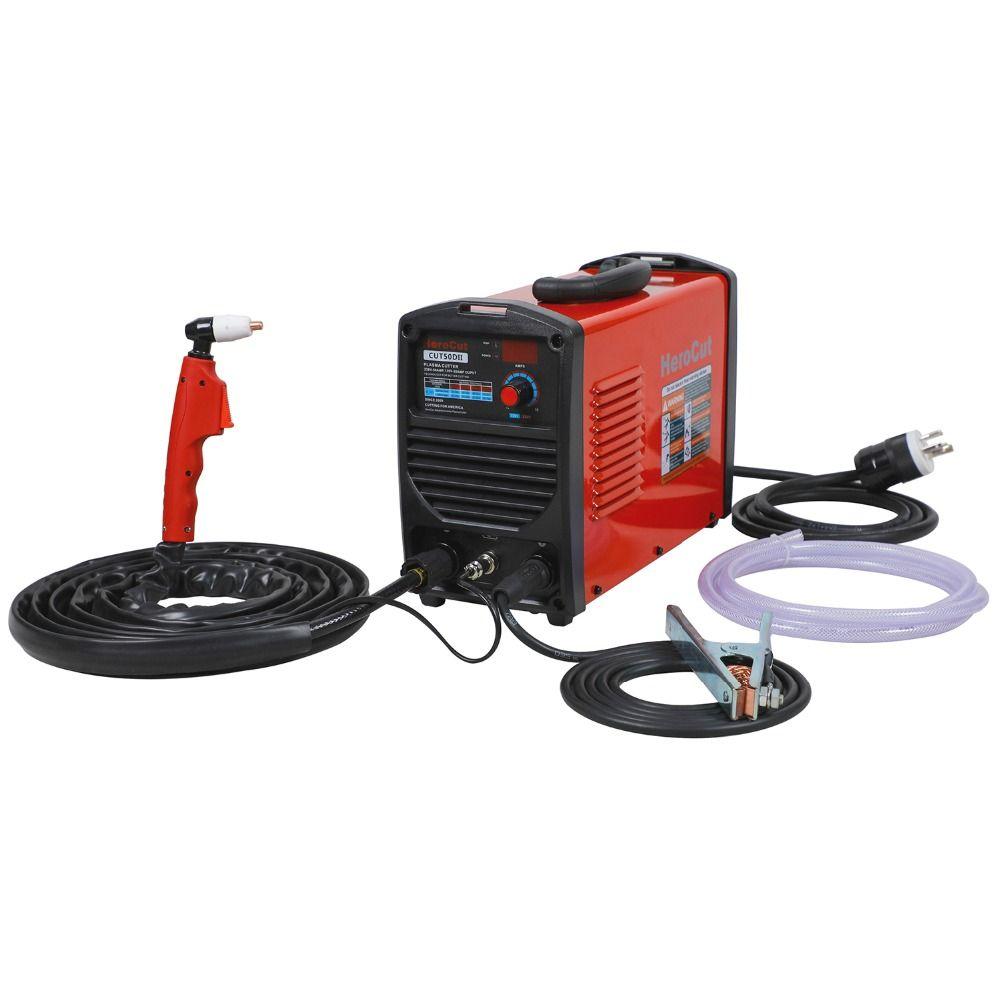 IGBT Plasma Cutter CUT50II 190V-250V Arcsonic Plasma cutting machine cutting show
