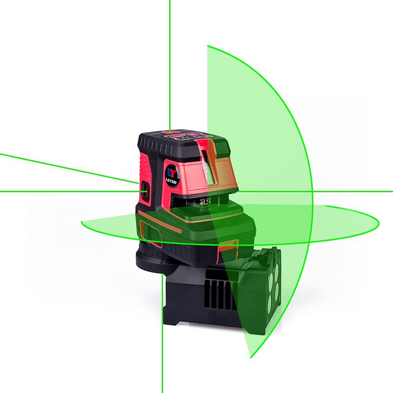 LETER Green laser spot Self Levelling Cross Line laser level 5dots 1V 1H