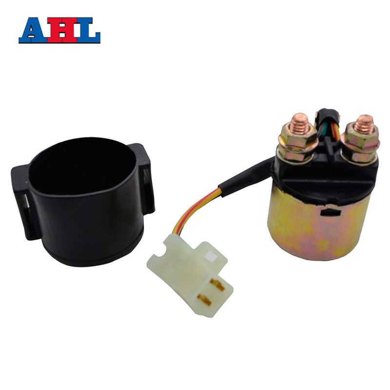 Motorcycle Electrical Starter Solenoid Relay Switch For YAMAHA MOTO-4 200 225 250 350 YFM200 YFM225 YFM250 YFM350 / XT600