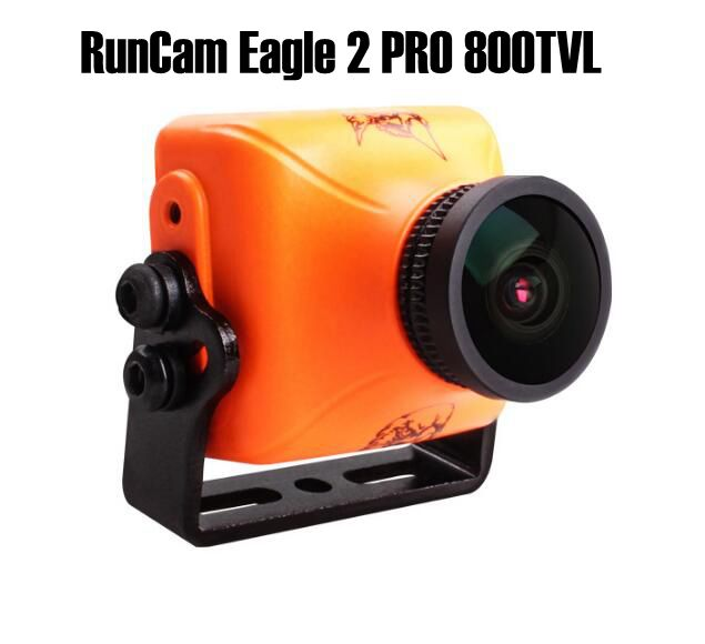 RunCam Eagle 2 PRO 800TVL CMOS 2.5mm 16:9/ 4:3NTSC/PAL Switchable Super WDR FPV Camera Low Latency