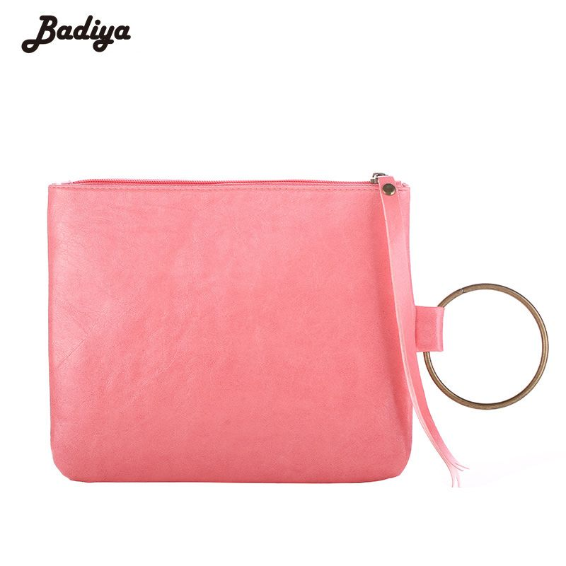 Badiya Famous Brand Women Leather Handbags Fashion Ladies Bag Day Clutch High Quality Bracelet Bags and Purse Portable Bags
