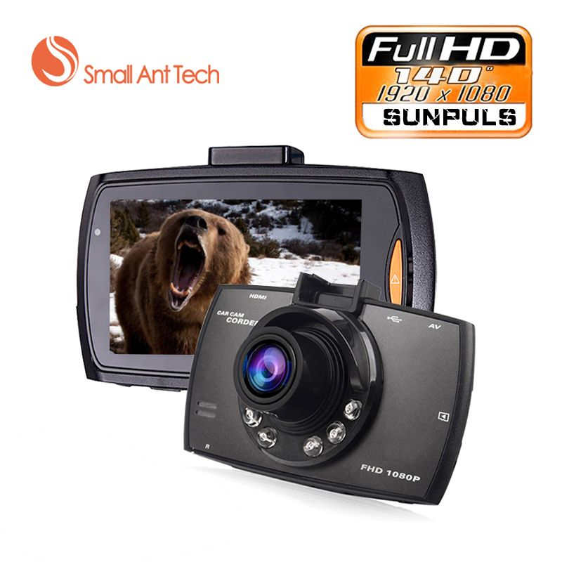 Mini 2.4 <font><b>Full</b></font> HD 1080 p Car DVR 140degre Wide Angle TFT LCD Car dvrs Dash Camera Video Cam Recorder Night Vision G-Sensor Black