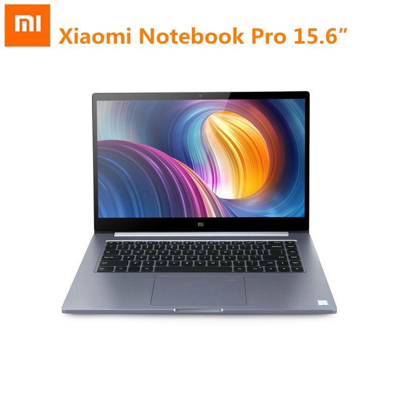 Original Xiaomi Mi Notebook Pro 15.6inch Windows 10 Intel Core I5/I7 Quad Core Laptop 1.8GHz 256GB SSD Fingerprint Recognition