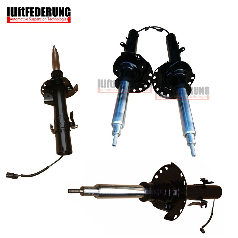 Luftfederung 2pcs Front Shock Absorber With Sensor 2pcs Rear Suspension Spring Strut Fit Land Rover Evoque BJ3218080 BJ3218K001