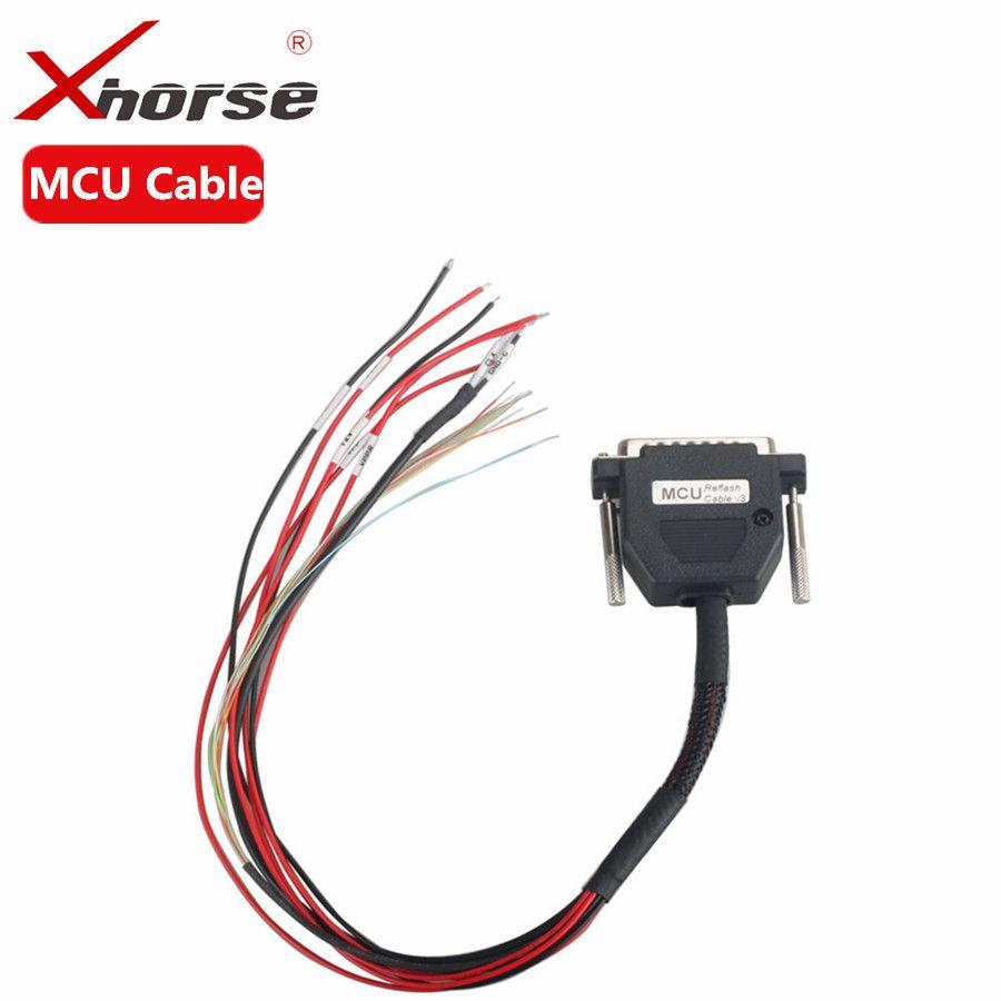 XHORSE VVDI PROG Programmer MCU Reflash Cable Read Write MCUs Chips