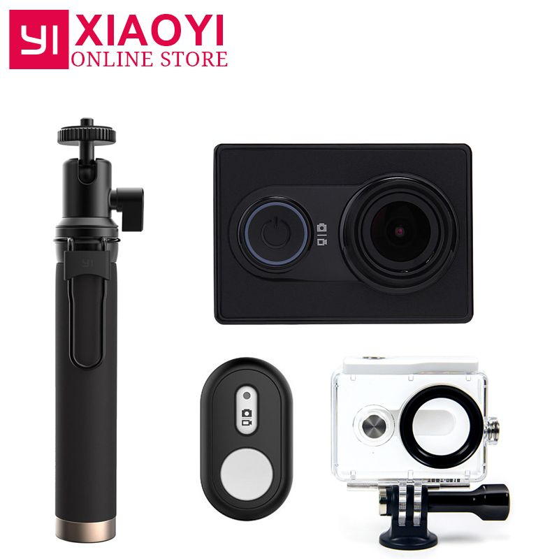 NEW Original Xiaomi YI Action Sports Camera Xiaoyi WiFi Action Cam 3D Noise Reduction 16MP 60FPS Ambarella International Edition