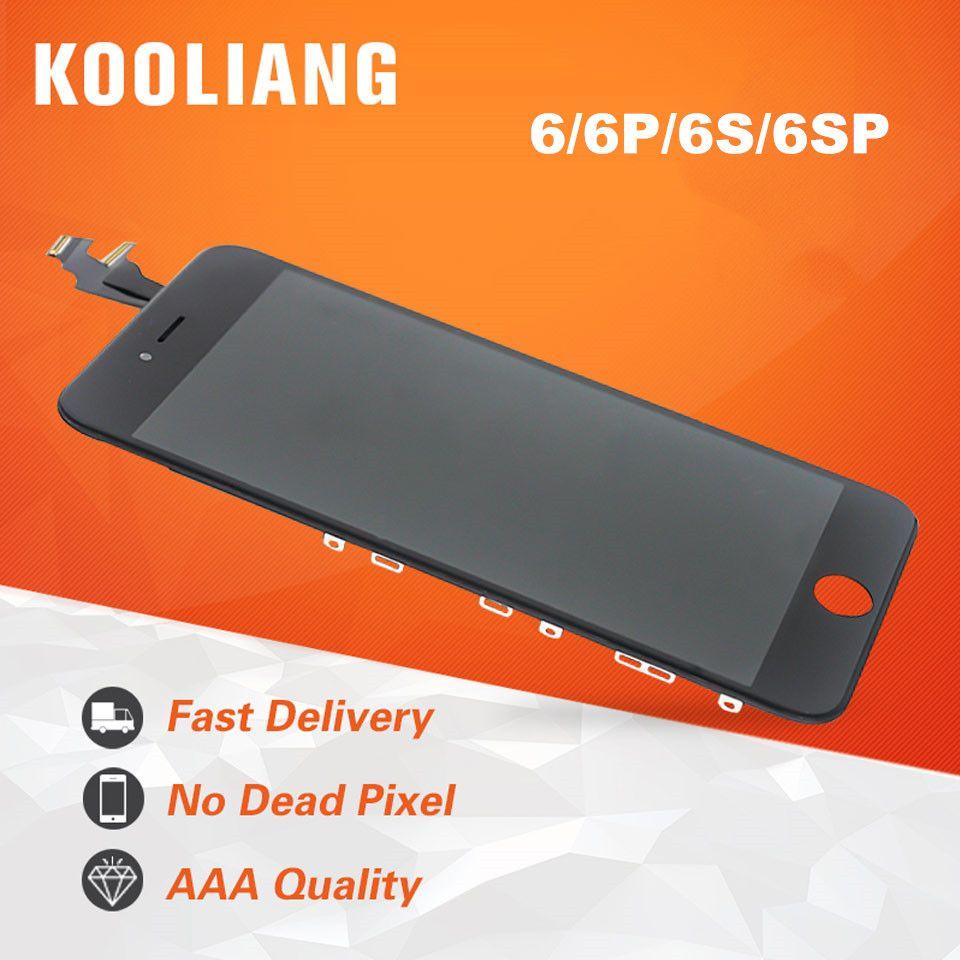 DHL 10 pièces AAA pièce de rechange ekran pour iPhone 6 6G 6plus 6 S 6splus écran LCD + numériseur écran tactile + cadre de lunette
