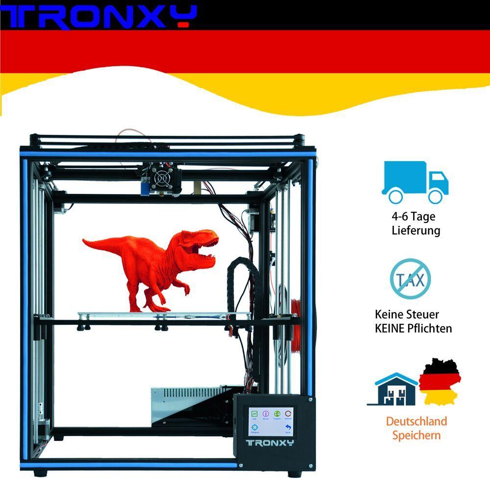 Verbesserte Tronxy X5SA 3D Drucker DIY Kits Touchscreen Auto Level Großen Druck Größe 330*330mm wärme bett 3d maschine Filament Sensor