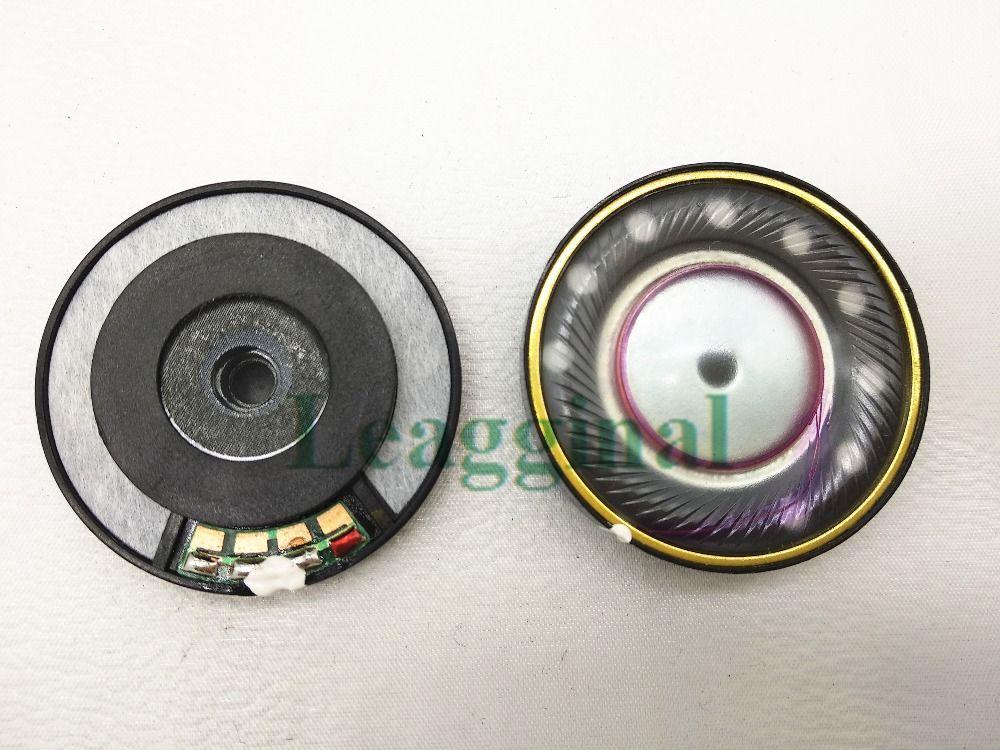 40mm haut-parleur unité Parfaite qualité sonore Trois unité à membrane 40mm casque accessoires unité 1 paire = 2 pcs