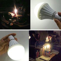 E27  5w 7w 9w 12w LED Bulb Smart Emergency Night Lights Intelligent Bulb  Charging Rechargeable Battery Energy Saving Lamps
