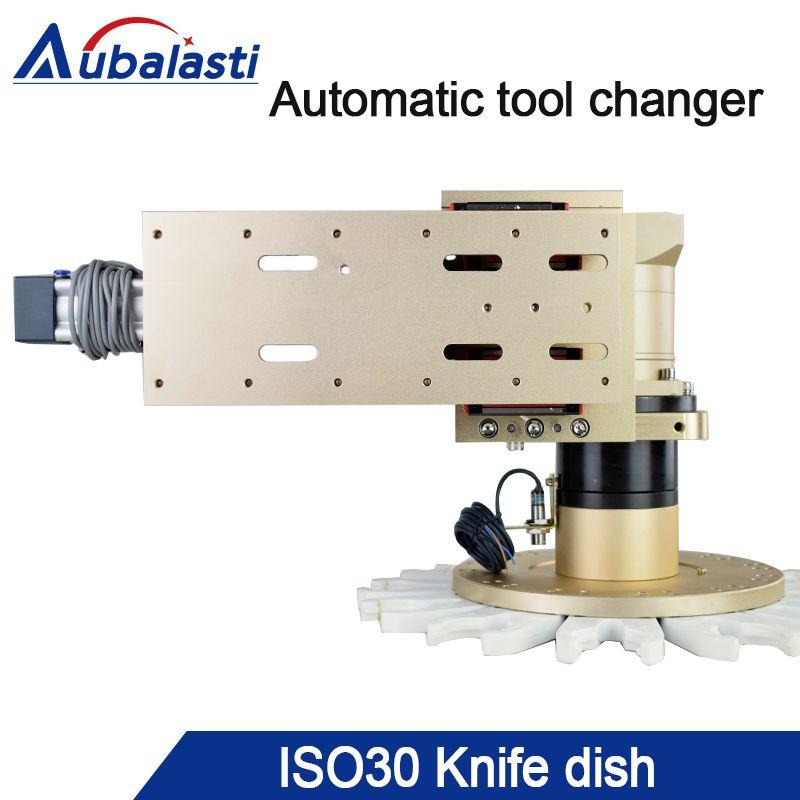 Gravur Maschine Werkzeug Magazin ISO30 BT30 Automatische Werkzeug Ändern Rotary Cutter CNC Router Spindel Werkzeug Halter 8-20 Stationen