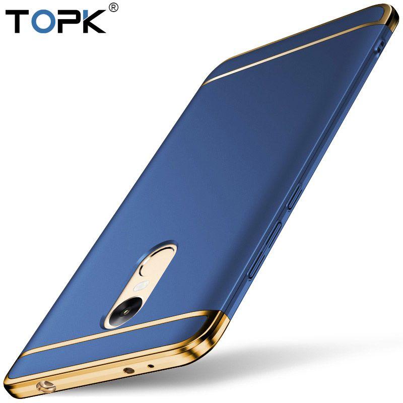 Pour Xiaomi RedMi Note 4x Cas, TOPK Premium 3-EN-1 Antichoc Givré Bouclier Dur Retour Housse pour Xiaomi Redmi Note 4x