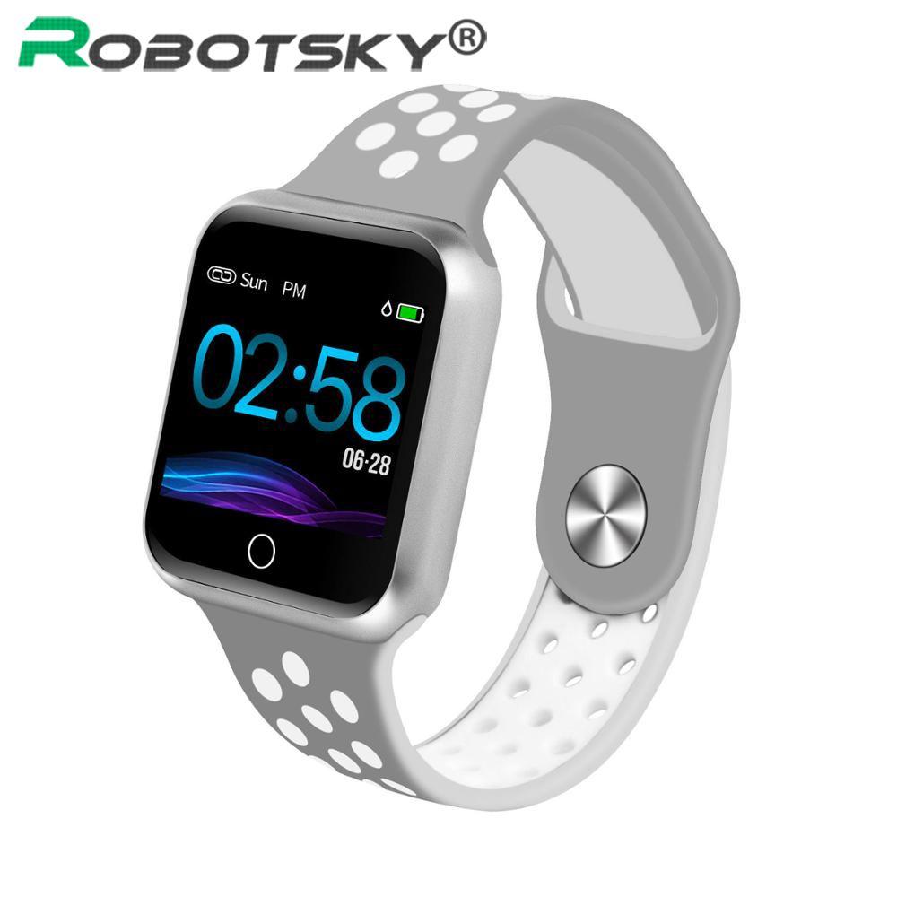 S226 montre intelligente moniteur de fréquence cardiaque tension artérielle IP67 étanche pour Android ios femmes hommes Sport Smartwatch meilleure livraison directe