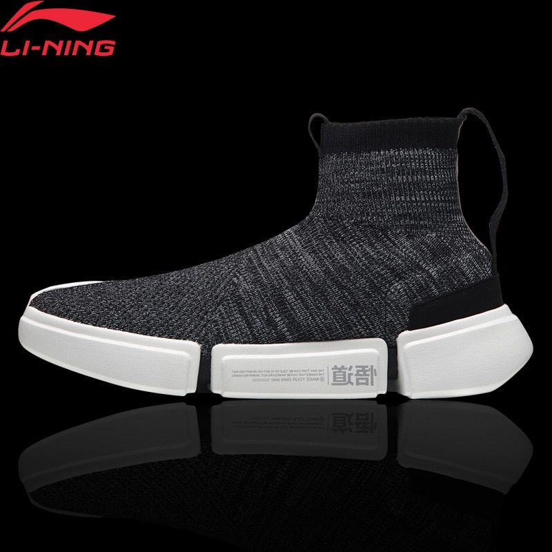 Li-Ning Men ESSENCE 2.0 Wade Culture Shoes NYFW Sock-Like LiNing Fitness Sport Shoes Comfort Sneakers AGWN009 YXB155
