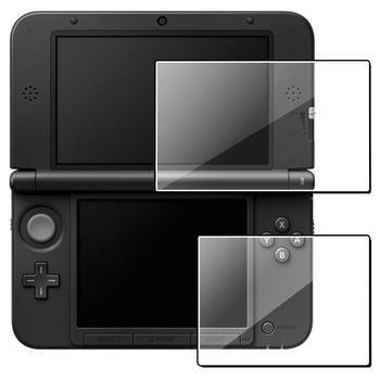 Heiße Neue Klar Top + Bottom LCD Screen Protector Schützen Abdeckung Schutz Filter Haut Film Für Nintendo 3DS XL Hohe qualität