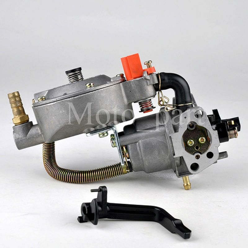 LPG NG Conversio For 168F GX160 Dual Fuel Carburetor Gasoline Generator 2KW Engine