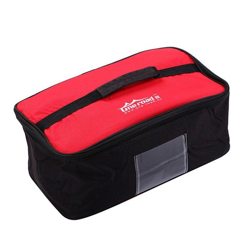Picknick Tasche Wasserdichte Portable Ourdoor Camping grill brenner Herd paket Reise Carry Lebensmittel Obst Lagerung Tote Handtasche